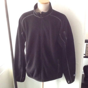 Kuhl Black Fleece Jacket Mens 2XL